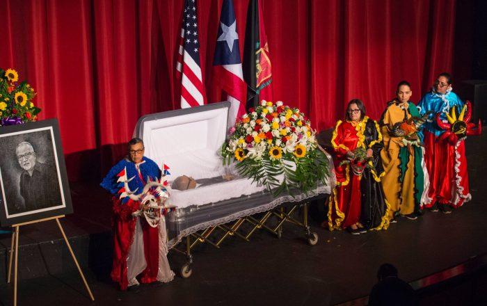 Ponceños le dan último adios a 'Wichie' Torres