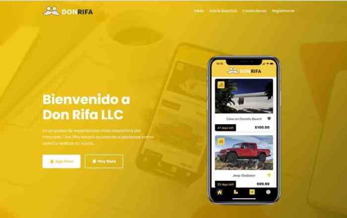 En la mira del DACO la aplicación Don Rifa