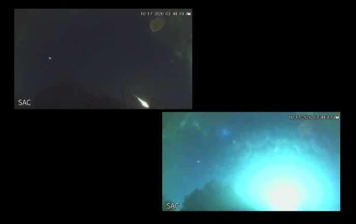 Pequeño asteroide iluminó el noroeste de Puerto Rico