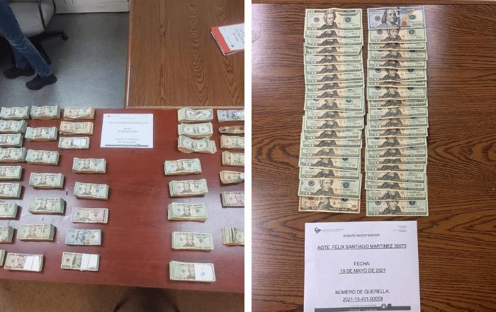 Ocupan $216,145 tras allanamiento en Coamo