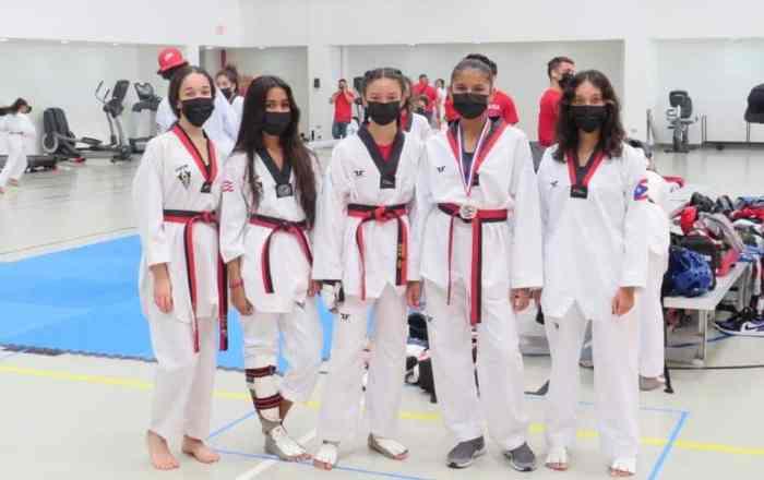 Celebran torneo de Taekwondo