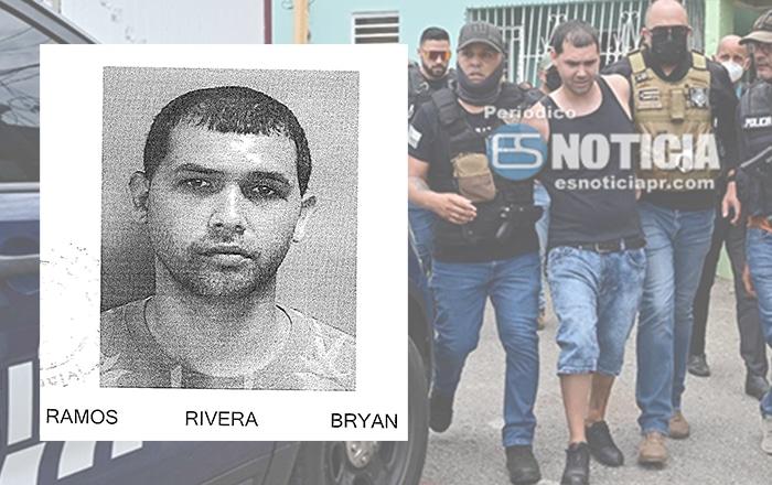 $3 millones de fianza al imputado de asesinar al policía