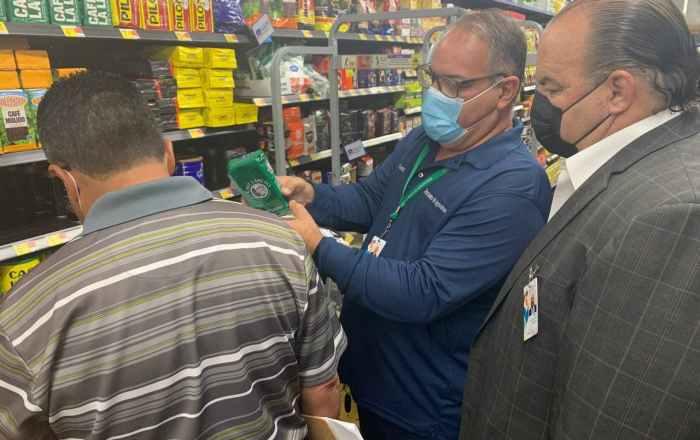 Agricultura realiza inspecciones en supermercados