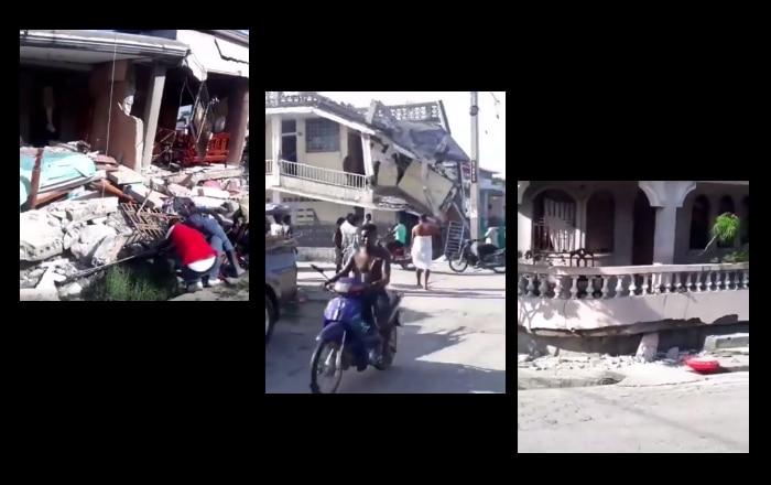 Terremoto de 7.2 de magnitud estremece a Haití