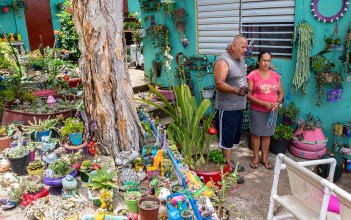Dos familias de Adjuntas viven en escuela desde el paso del huracán María