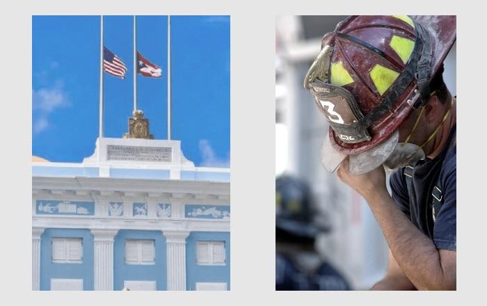 Banderas ondearán a media asta en conmemoración del 11 de septiembre