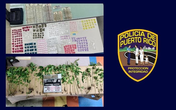 Ocupan drogas y dinero en operativo realizado en Ponce