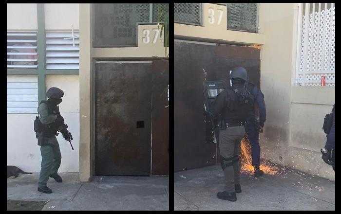 Arrestan el supuesto operador de punto que operaba detrás de portón de tola