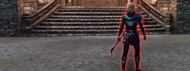 Rogerain the Sly boss in Red Petal Dungeon ESO