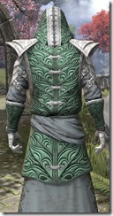 Abah's Watch Robe - Male Close Back