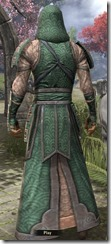 Akaviri Homespun Robe - Male Back