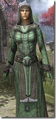 Ancient Elf Homespun Robe - Female Close Front