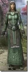 Ancient Elf Homespun Robe - Female Front