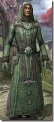 Ancient Elf Homespun Robe - Male Front