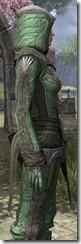 Ancient Elf Homespun Shirt - Female Close Side