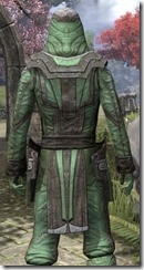 Ancient Elf Homespun Shirt - Male Close Back
