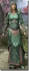 Ancient Orc Homespun Robe - Female Front