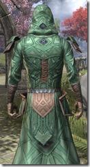 Ancient Orc Homespun Robe - Male Close Back