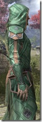 Ancient Orc Homespun Robe - Male Close Side