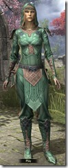 Ancient Orc Homespun Shirt - Female Front