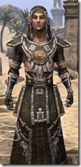 Argonian Cotton - Male Robe Close Front