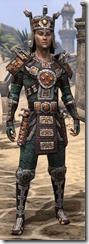 Argonian Dwarven - Male Front