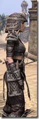 Argonian Full-Leather - Female Close Side