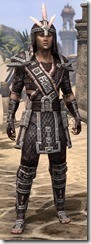 Argonian Full-Leather - Male Front