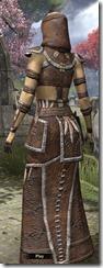 Argonian Homespun Robe - Female Back