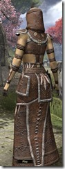 Argonian Homespun Robe - Female Back