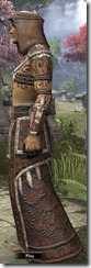 Argonian Homespun Robe - Male Side