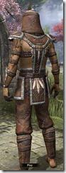 Argonian Homespun Shirt - Male Back