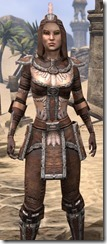 Argonian Linen - Female Shirt Close Front