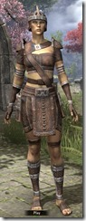 Argonian Rawhide - Female Front