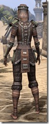 Argonian Steel - Female Rear