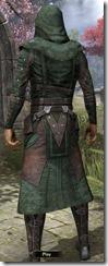 Assassins League Robe - Male Back
