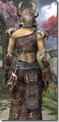 Barbaric Homespun Robe - Female Close Back