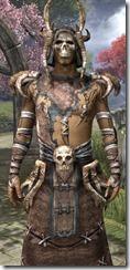 Barbaric Homespun Robe - Male Close Front