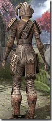 Barbaric Iron - Female Back