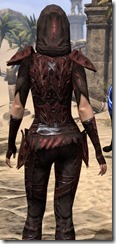 Coat of the Red Mountain - Female Close Back