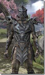 Daedric Iron - Male Back Front