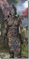 Daedric Rawhide - Female Close Front