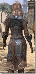 Dark Brotherhood Iron - Female Close Back