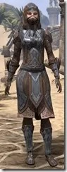 Dark Brotherhood Iron - Female Front