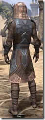 Dark Brotherhood Iron - Male Back