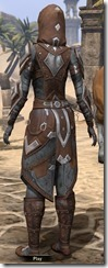 Dark Brotherhood Rawhide - Female Back