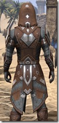 Dark Brotherhood Rawhide - Male Close Back