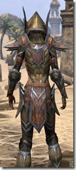 Dark Elf Dwarven - Female Close Rear