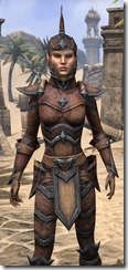 Dark Elf Hide - Female Close Front