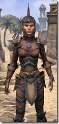 Dark Elf Hide - Female Close Front
